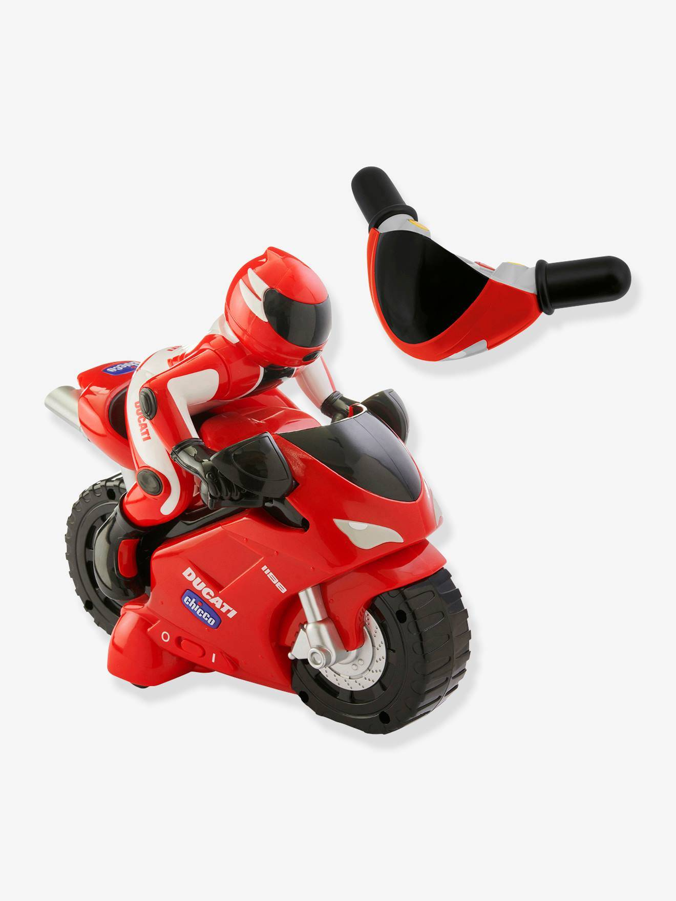 CHICCO Moto Ducati 1198 Chicco rojo fuerte metalizado