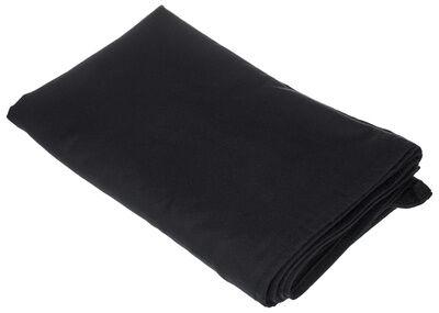 Stairville Skirt 160g/m² 10.0x0.8m Bk Negro