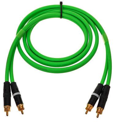 Cordial CEON DJ RCA 1,5 G Verde