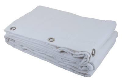 Stairville Curtain 160g/m² 1.0x3.0m Wh Blanco