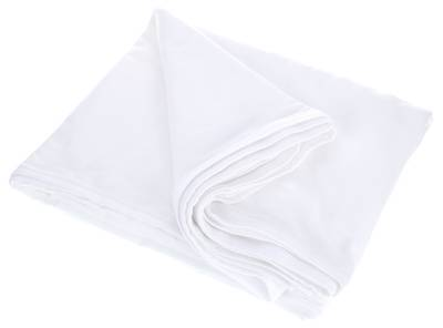 Stairville Skirt 160g/m² 4.0x0.6m Wh Blanco