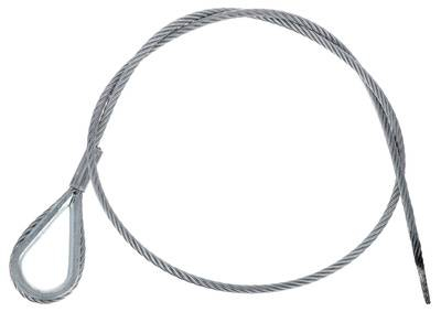 Stairville Steelwire Safety 100cm/5mm