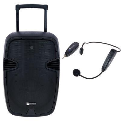Fun Generation BP 115 A Headset Bundle Negro