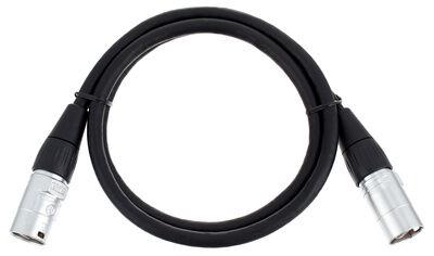 pro snake CAT6E Cable 1m Negro