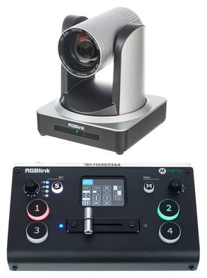 RGBLink PTZ Camera 12x + Mini+ Bundle silver