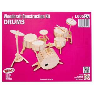 Quay Woodcraft Kit - Drums
