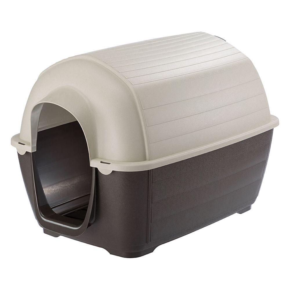 ferplast caseta de plástico  kenny para perros - kenny 01: 50 x 78 x 50 cm