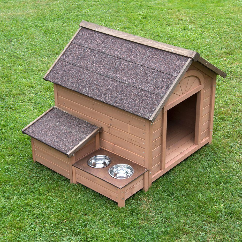 zooplus exclusive caseta sylvan confort para perros.- tamaño l: 104 x 91 x 81 cm (an x l x al)