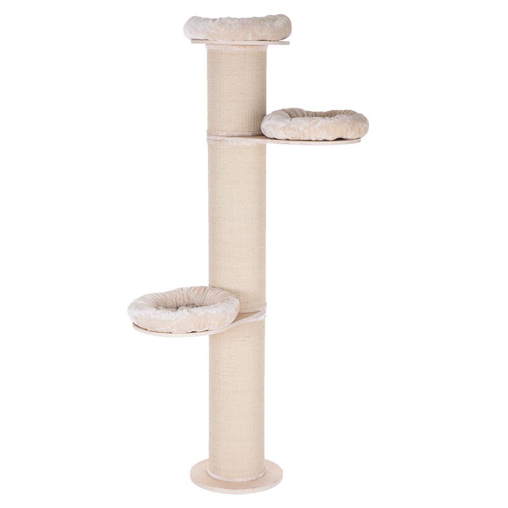 zooplus exclusive poste para gatos natural paradise xxl - marrón oscuro