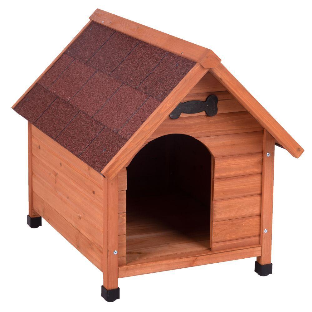 zooplus exclusive caseta de madera spike classic para perros - m: 65 x 88 x 76 cm (an x p x al)