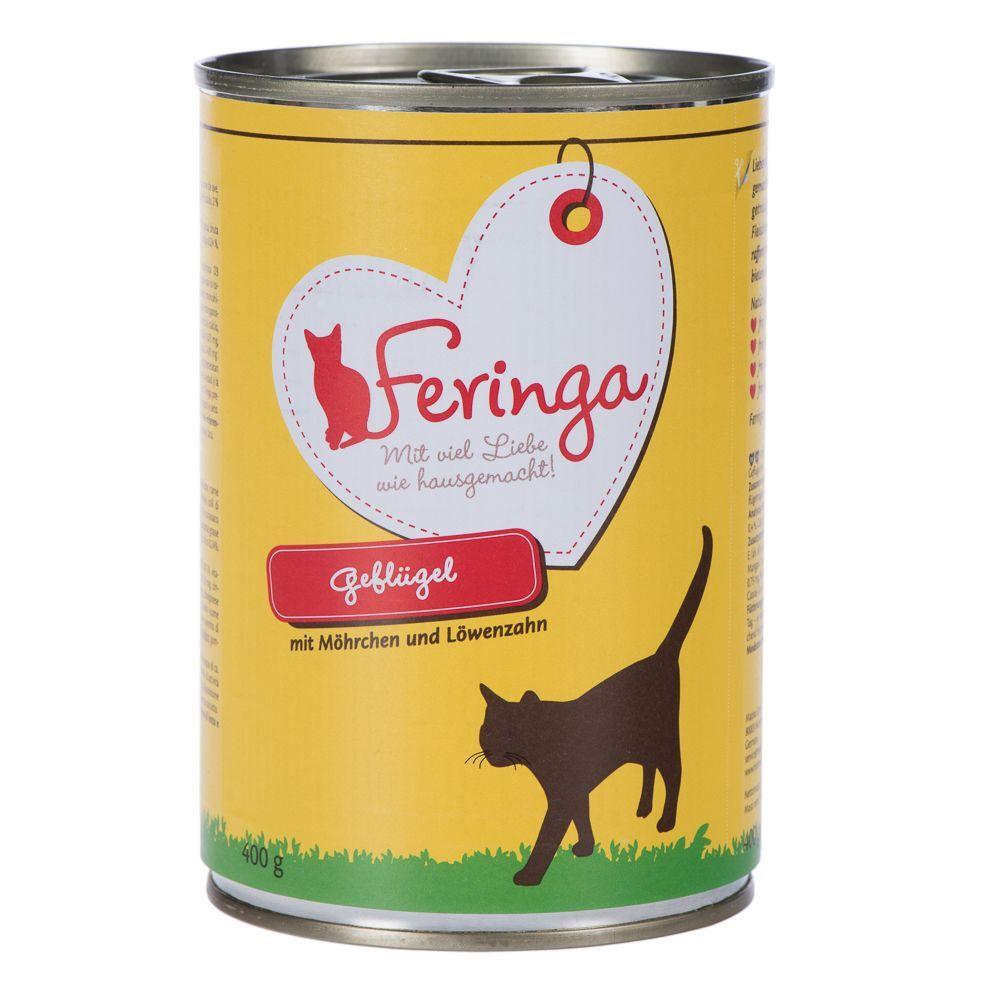 Feringa 6x400g Menús Duo Trucha y pollo para gatos
