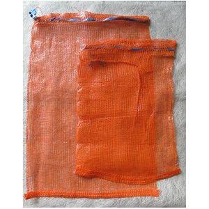 Verkkosäkki 34 x 47 cm Hengittävä verkkopussi vaikka sipulille