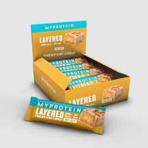 Myprotein 6 Layer Bar proteiinipatukka - 12 x 60g - White Gold