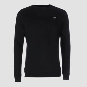 Myprotein MP Men's Essentials Sweatshirt -collegepaita - Musta - XXXL