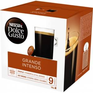 Dolce gusto Dolce Gusto Grande Intenso kahvikapselit, 16 annosta 7613032913250 Replace: N/A