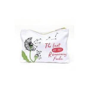 Emily McDowell & Friends Remaining Fucks Canvas Pouch