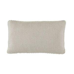 Marc O'Polo Nordic Knit Kudde 100% Bomull 30x60 cm Indigoblå