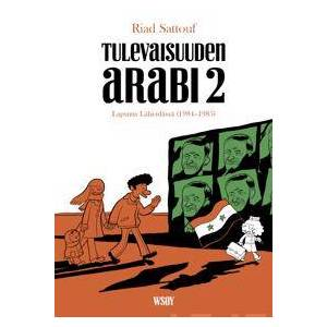 Sattouf, Riad Tulevaisuuden arabi 2 Nidottu