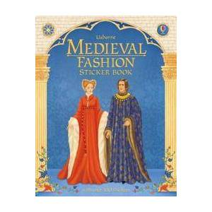 Historical Sticker Dolly Dressing Medieval Fashion