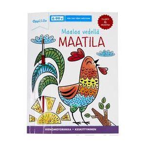 Siiriinen, Tuire Maalaa vedell MAATILA - puuhakirja 4-99 v Muu