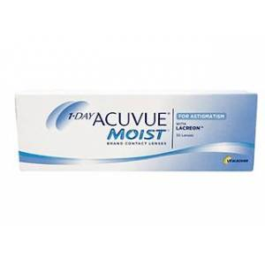 Acuvue 1-Day  Moist for Astigmatism 30 Pack Piilolinssit