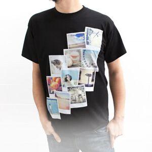 T-paita kuvalla musta L