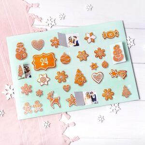 Joulukalenteri kuvilla Talvimaisema