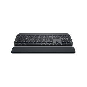 Logitech MX Keys Plus Advanced Wireless Illuminated Keyboard Graphite - ES - N�pp�imist� - Espanjalainen - Musta