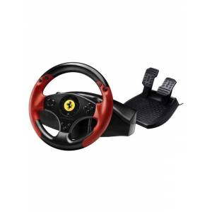 Thrustmaster Ferrari Red Legend Edition - Ratti & polkimet -setti - Sony PlayStation 3