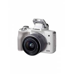 Canon EOS M50 15-45mm IS STM - White