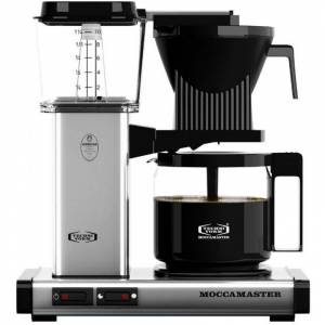 Moccamaster KBG962AO kahvinkeitin 10 kuppia. 1.25 l. hopea