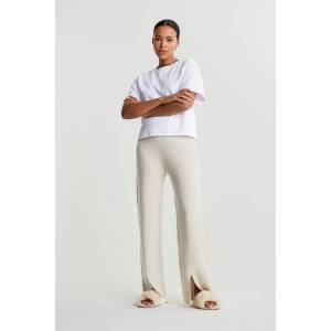 Gina Tricot Mimmi knitted trousers - Kitt melange (7040) - Size: XXL