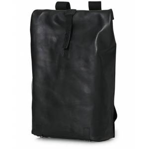 Brooks England Pickwick Large Leather Backpack Black