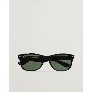 Ray Ban New Wayfarer Sunglasses Black/Crystal Green