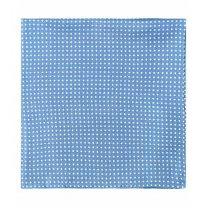 Amanda Christensen Handkerchief Dot Silk Sky Blue
