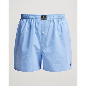 Ralph Lauren Woven Boxer Blue Gingham Blue