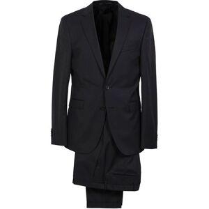 BOSS Ryan Slim Fit Wool Suit Black