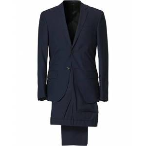 Filippa K Rick Cool Wool Suit Hope Blue