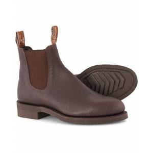 R.M. Williams Gardener G Boot Greasy Kip Brown