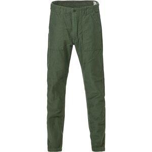 orSlow Slim Fit Original Sateen Fatigue Pants Army Green