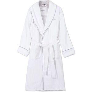 Gant Premium Velour Robe White