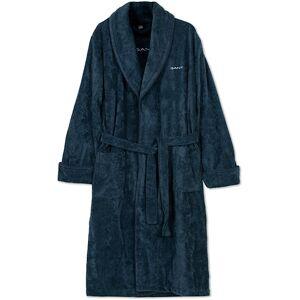 Gant Premium Velour Robe Evening Blue