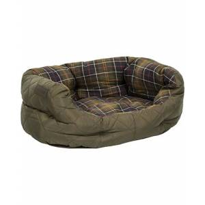 Barbour Quilted Dog Bed 24' Olive