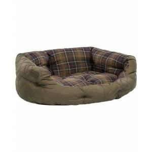 Barbour Quilted Dog Bed 30' Olive