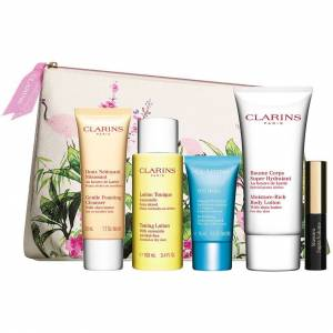 Clarins Toiletry Bag Gift,  Clarins Samples