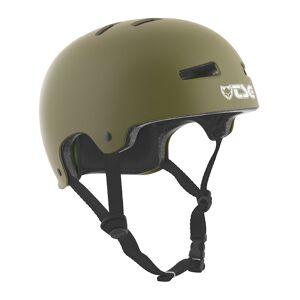TSG Evolution Solid Color Helmet vihreä  - satin olive