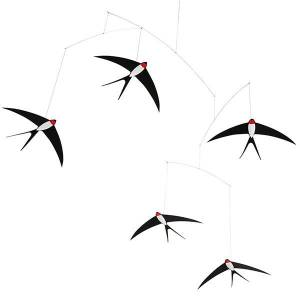 Flensted Mobiles Swallow Mobile 5