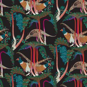 Klaus Haapaniemi Pheasants tapetti, mattapinnoitettu