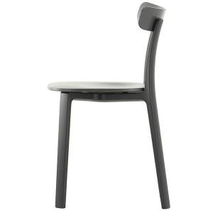 Vitra All Plastic Chair, grafiitinharmaa