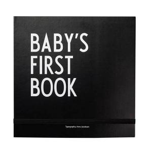 Design Letters Baby's First Book, musta